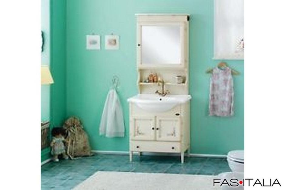 Mobile da bagno classico decapé