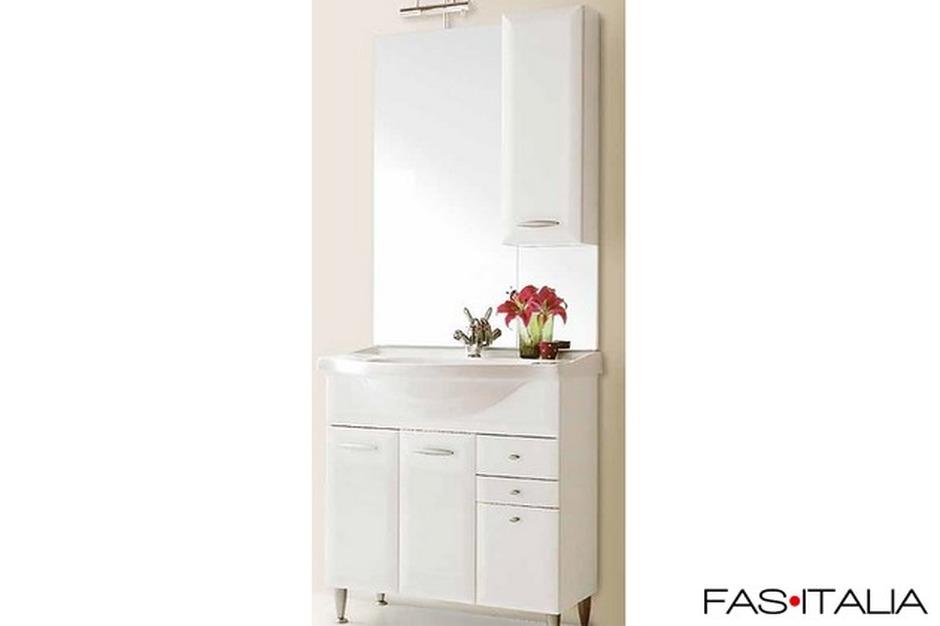 Mobili Da Bagno Bianco Lucido : Mobili per bagno a colonna groupon goods