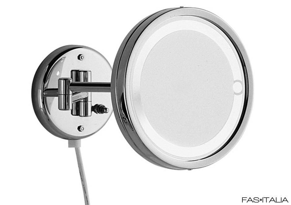 Specchi Ingranditori Per Bagno Con Luce.Specchio Ingranditore Con Luce O 14 Cm